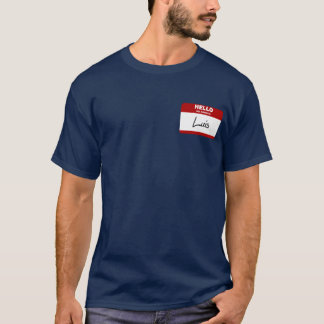 Hello My Name Is Luis (Red) T-Shirt