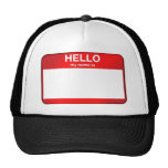 Hello My Name Is... Mesh Hat
