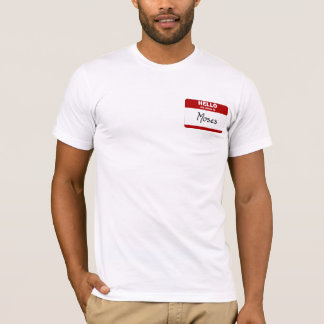 Hello My Name Is Moses (Red) T-Shirt