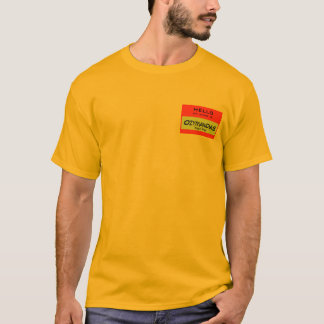 Hello, My Name Is Ozymandias T-Shirt