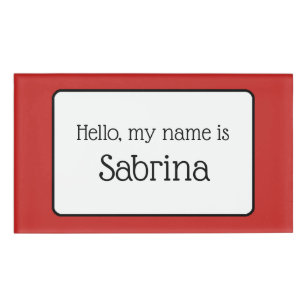 for meetings name tags zazzle