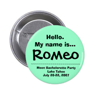 Hello.My name is Romeo Buttons
