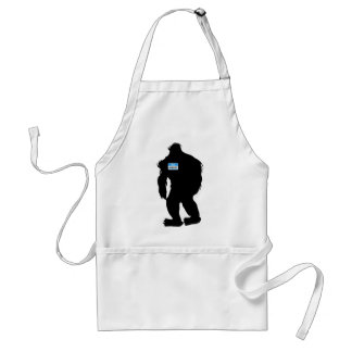 Hello-My Name Is Sasquatch Aprons