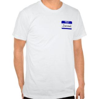 Hello My Name Is Savanah (Blue) Shirts