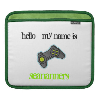 hello my name is seananners sleeve for iPads