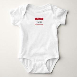 HELLO my name is Shark Bait Baby Bodysuit