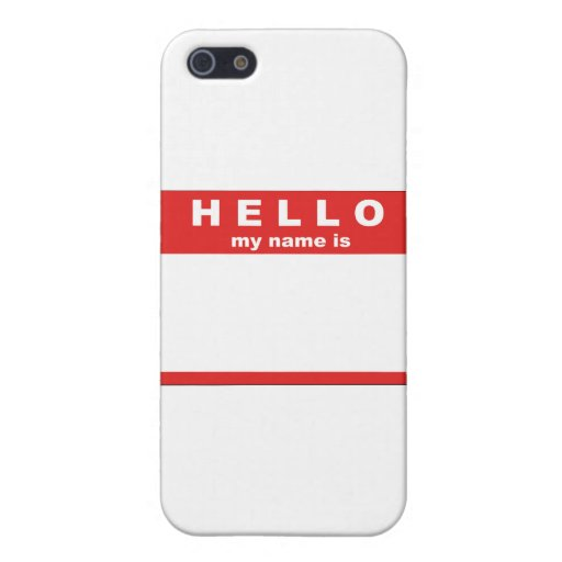 hello_my_name_is_sticker_by_trexweb1 iPhone 5 protector
