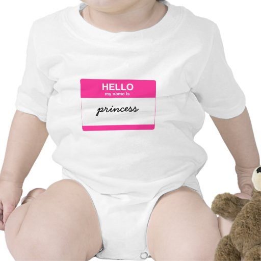 Hello, My Name is Tag Bodysuits