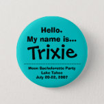 Hello.My name is Trixie Button