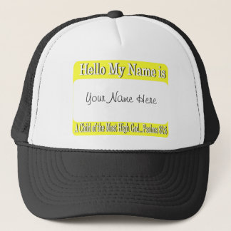 Hello My Name Is... Trucker Hat