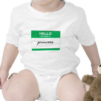 Hello, My Name is Rompers