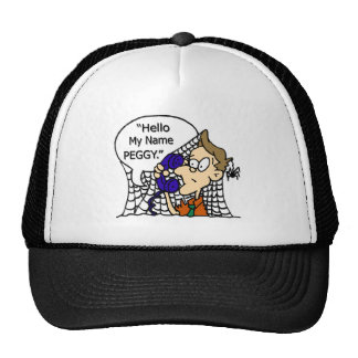 Hello My Name Peggy Mesh Hat