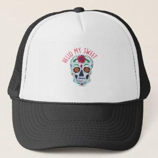 Hello My Sweet Trucker Hat