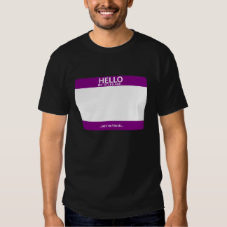 Hello, My Titles Are... T-Shirt
