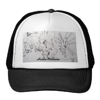 Hello Nature Trucker Hat