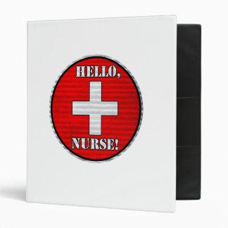 Hello, Nurse! Binder