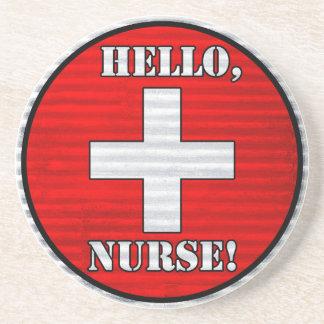 Hello, Nurse! Coaster