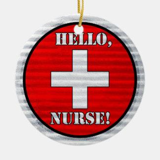 Hello, Nurse! Ornament