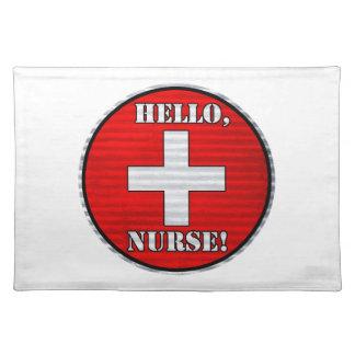 Hello, Nurse! Placemat