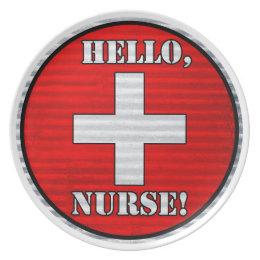 Hello, Nurse! Plate