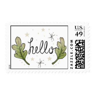 Hello, Oak Leaves Stamps