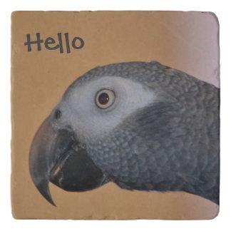 Hello Parrot Trivet