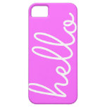 Hello Phone Case iPhone 5/5S Cases
