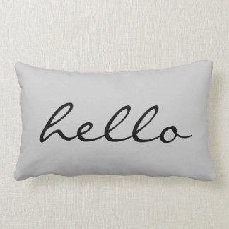 Hello Throw Pillows