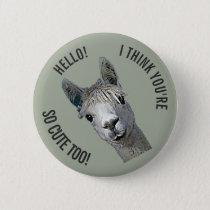 Hello Pinback Button