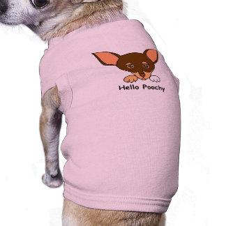 Hello Poochy Dog T-shirt