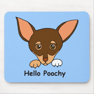 Hello Poochy Mouse Pad