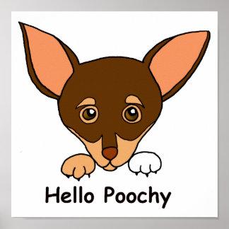 hello poochy Poster
