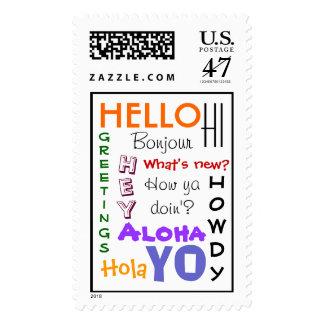 Hello Postage