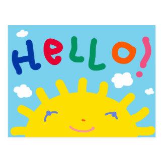 Hello postcard