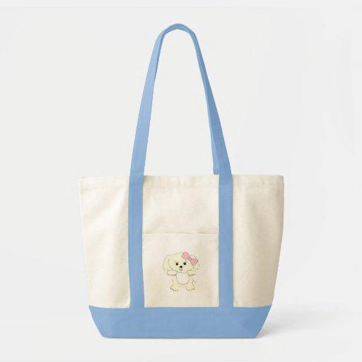 Hello Puppy Impulse Tote Bag