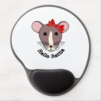 Hello Rattie Gel Mouse Pad