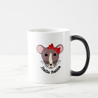 Hello Rattie Magic Mug