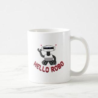Hello Robo Classic White Coffee Mug