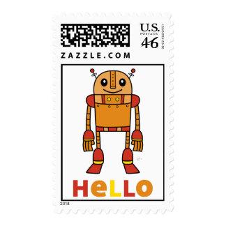 Hello Robot - Postage Stamp