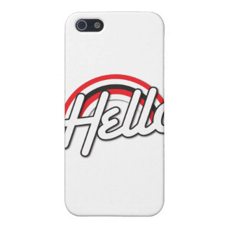 hello! Rockabilly rainbow iPhone SE/5/5s Cover