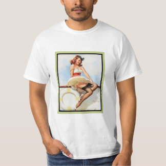 Hello sailor nautical pin-up T-Shirt