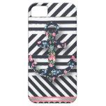 Hello Sailor! Retro Vintage Nautical Floral Anchor iPhone 5 Cover