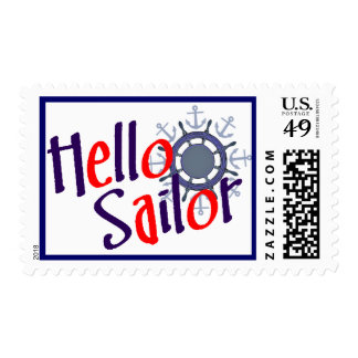 Hello Sailor sailing postage