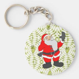 Hello Santa Keychains