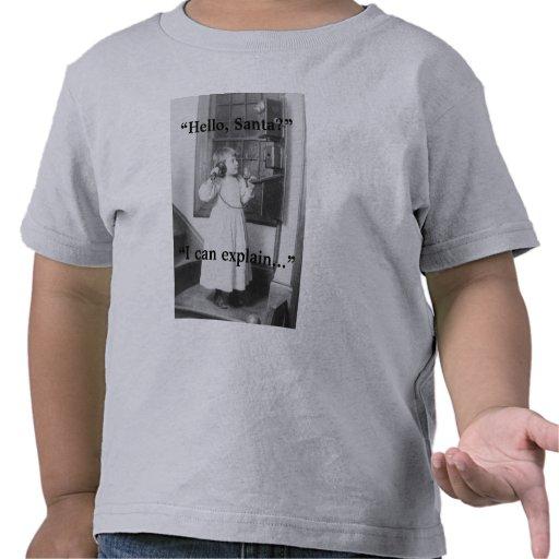 Hello, Santa? - Kid's T-Shirt #1
