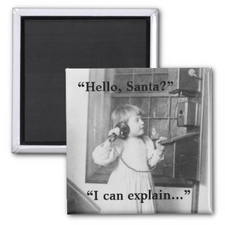 Hello, Santa? - Magnet #1 magnet