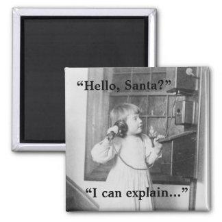 Hello, Santa? - Magnet #1