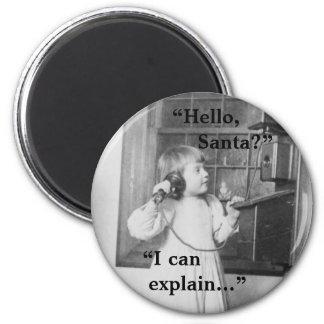 Hello, Santa? - Magnet #2