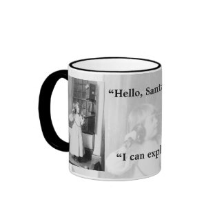 Hello, Santa? - Mug #2 mug