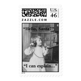 Hello, Santa? - Postage #1 stamp